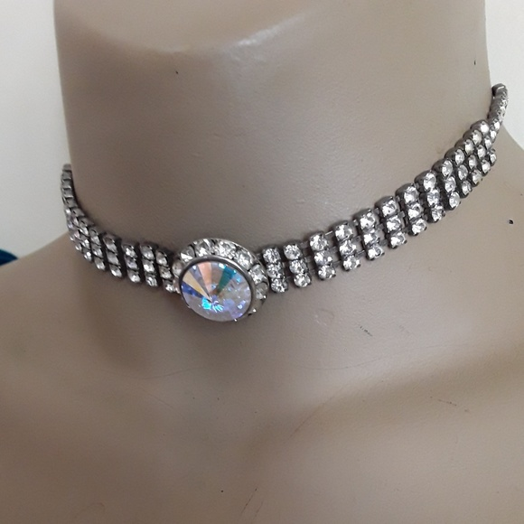 Jewelry - Crystal Cocktail Choker